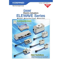 Electric Actuators/Elewave Series -	Stepping motor and encoder.